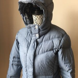 MEC down filled puffer coat with hood